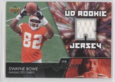 2007 Upper Deck UD Rookie Jersey #UDRJ-DB - Dwayne Bowe