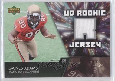 2007 Upper Deck UD Rookie Jersey #UDRJ-GA - Gaines Adams