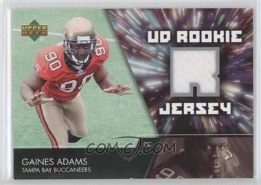 2007 Upper Deck UD Rookie Jersey #UDRJ-GA - Gaines Adams