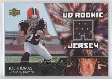 2007 Upper Deck UD Rookie Jersey #UDRJ-JT - Joe Thomas