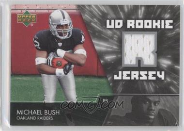 2007 Upper Deck UD Rookie Jersey #UDRJ-MB - Michael Bush