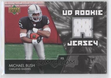 2007 Upper Deck UD Rookie Jersey #UDRJ-MB - Michael Bush