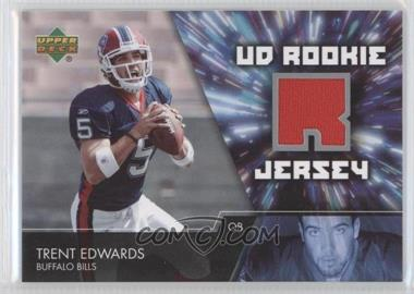2007 Upper Deck UD Rookie Jersey #UDRJ-TE - Trent Edwards