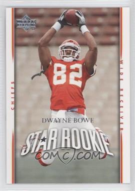 2007 Upper Deck #285 - Dwayne Bowe