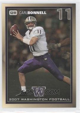 2007 Washington Huskies Team Issue - [Base] #CABO - Carl Bonnell