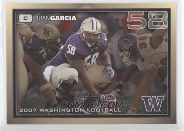 2007 Washington Huskies Team Issue - [Base] #JUGA - Justin Gage