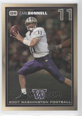 2007 Washington Huskies Team Issue #CABO - Carl Bonnell