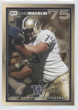 2007 Washington Huskies Team Issue #CHMA - Chris Massey