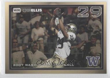 2007 Washington Huskies Team Issue #COEL - Cody Ellis