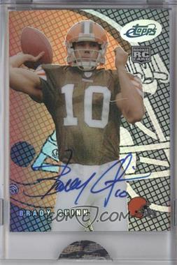 2007 eTopps Autograph [Autographed] #38 - Brady Quinn /1499