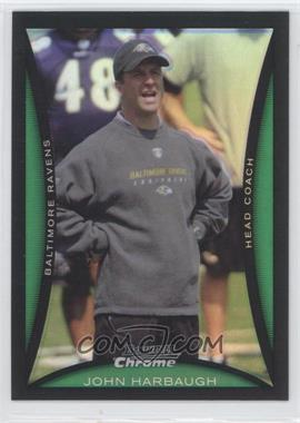 2008 Bowman Chrome Refractor #BC217 - John Harbaugh
