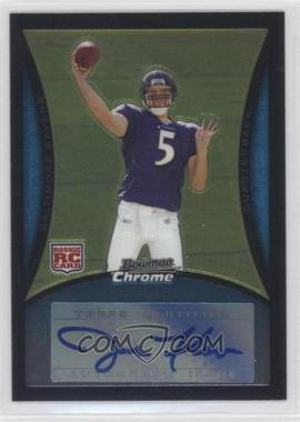 2008 Bowman Chrome Rookie Autographs [Autographed] #BC61 - Joe Flacco