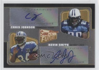 2008 Bowman Signs of the Future Doubles [Autographed] #SFD-JS - Chris Johnson, Kevin Smith /50