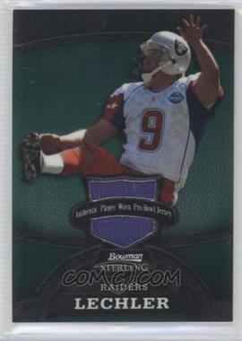 2008 Bowman Sterling Jerseys Green #85 - Shane Lechler /245