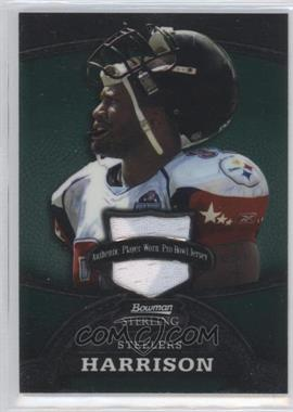 2008 Bowman Sterling Jerseys Green #97 - James Harrison /249
