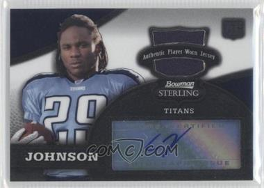 2008 Bowman Sterling #156 - Chris Johnson