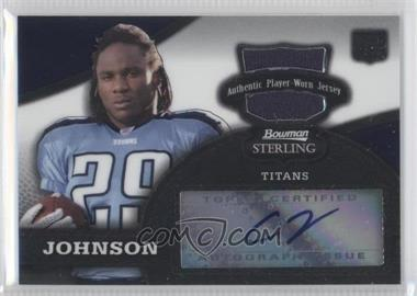 2008 Bowman Sterling #156.2 - Chris Johnson