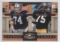 Bob Lilly, Joe Greene /250