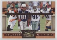 Chad Johnson, Randy Moss, Torry Holt, Terrell Owens /100