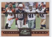 Chad Johnson, Terrell Owens, Torry Holt, Randy Moss /250