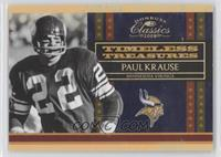 Paul Krause /100