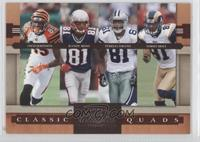 Chad Johnson, Randy Moss, Terrell Owens, Torry Holt /1000