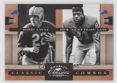 2008 Donruss Classics [???] #5 - Bobby Lane, Dick Lane /250