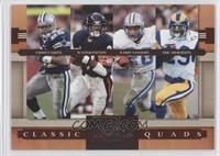 Emmitt Smith, Barry Sanders, Eric Dickerson, Walter Payton /1000