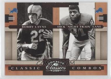 2008 Donruss Classics [???] #CC-5 - Bobby Lane, Dick Lane /250