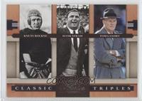 Knute Rockne, Hank Stram, Tom Landry /1000
