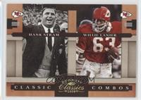 Hank Stram, Willie Lanier /100