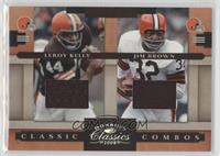 Jim Brown, Leroy Kelly /85