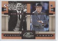 Hank Stram, Tom Landry /250