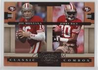 Jerry Rice, Joe Montana /1000