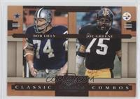 Bob Lilly, Joe Greene /1000