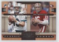 Dan Marino, Joe Montana /1000