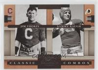 Jim Thorpe, Sammy Baugh /1000
