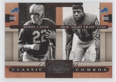 "2008 Donruss Classics Classic Combos #CC-5 - Bobby Lane, Dick ""Night Train"" Lane /1000"