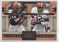 Leroy Kelly, Jim Brown /1000