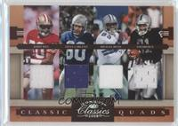 Jerry Rice, Tim Brown, Michael Irvin, Steve Largent /100