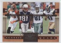 Chad Johnson, Terrell Owens, Torry Holt, Randy Moss /1000
