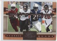 Edgerrin James, Fred Taylor, LaDainian Tomlinson, Warrick Dunn /1000