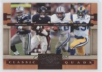 Walter Payton, Barry Sanders, Emmitt Smith, Eric Dickerson /1000