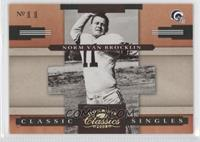 Norm Van Brocklin /100