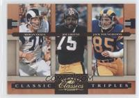 Joe Greene, Jack Youngblood, Merlin Olsen /100