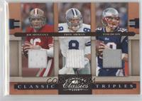 Joe Montana, Troy Aikman, Tom Brady /250