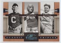 Ken Strong, Sammy Baugh, Jim Thorpe /25