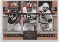 Leroy Kelly, Jim Brown, Marion Motley /1000