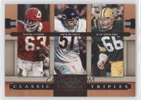 Dick Butkus, Ray Nitschke, Willie Lanier /1000