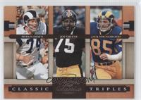Jack Youngblood, Merlin Olsen, Joe Greene /1000